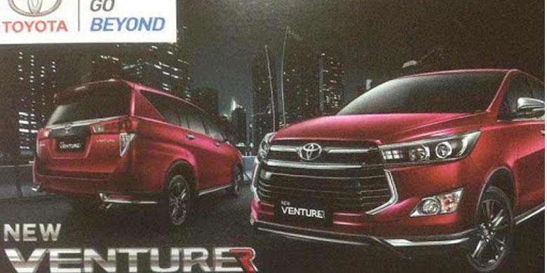Toyota Innova Venturer Menawarkan Dua Pilihan Mesin