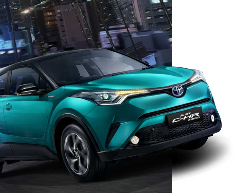 Toyota All New CHR Hybrid 2020