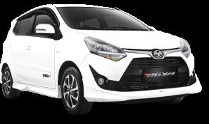 Toyota Agya 1.2 TRD warna Putih