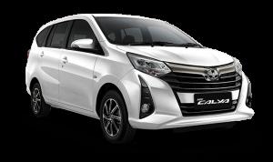 Toyota Calya warna Putih