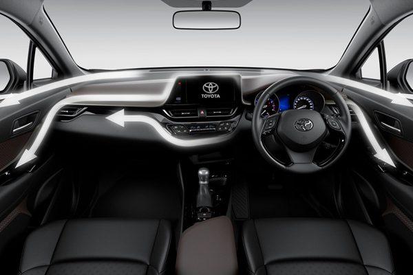 Imterior Toyota C-HR Indonesia