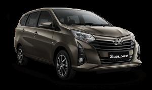 Toyota Calya warna Brown