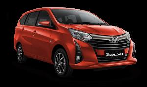 Toyota Calya Orange