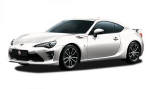 toyota ft86 warna putih