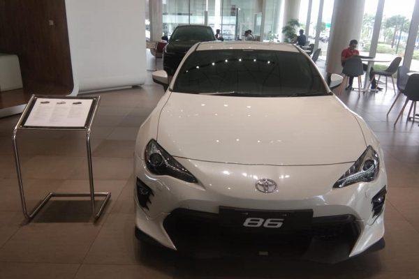 toyota ft 86 2020 warna putih indonesia harga