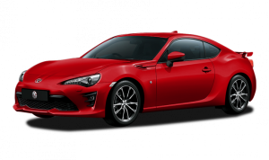 toyota ft86 warna merah