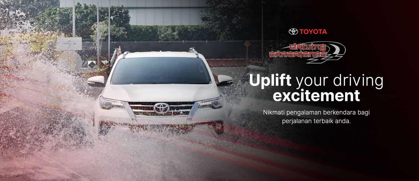 Toyota Driving Experience TDE SUNTER Melayani Test Drive Mobil Toyota ,BOOKING NOW...!!